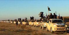 Barack Obama: Un hélicoptère US escorte un convoi de Daesh