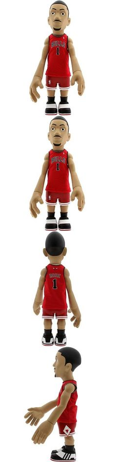 Designer and Urban Vinyl 158672: $300 Mindstyle X Nba Derrick Rose 18 Inch Figurine Away Jersey (Red) Limited 200 -> BUY IT NOW ONLY: $299.99 on eBay!
