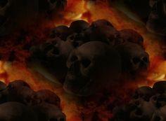Those skulls are tileable Metallic Wallpaper, Free Black, Metal Bands, Black Metal, Skulls, Painting, Image, Metal Music Bands, Painting Art