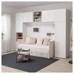 Platsa Wardrobe White Fonnes Sannidal Ikea Alex Bedroom In Spare Bedroom Closets, Bedroom Closet Design, Girl Bedroom Designs, Small Room Bedroom, Interior Design Living Room, Small Bedrooms, Wardrobe In Bedroom, Bedroom Tv, Pax Wardrobe