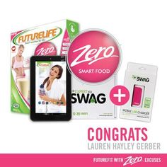 The winner of our grand prize in our FUTUREFIT with ZERO EXCUSES competition has been chosen! Congratulations to Lauren Hayley Gerber. Timeline Photos, Competition, Congratulations, Swag