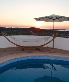 Sunset over Cala Conta