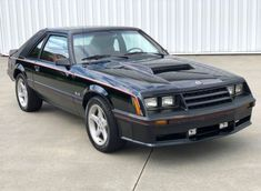 from the 1982 Mustang GT. Black with Red interior, factory Louvers, very well optioned car. Fox Body Mustang, Mustang Cobra, Ford Mustang Gt, Mercury Capri, Best Car Insurance, Red Interiors, Sport Cars, Classic Cars, Vehicles