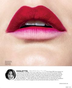 Grazia France October 2013 : Make Up 3.0