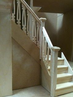 how to: mini stairs baluster/spindle from popsicle sticks