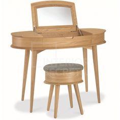 Asta Dressing Table Scandinavian Design - Natural