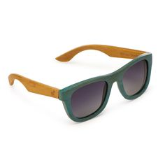 34d3382f23be Sport the coolest specs in town with Maboo Mauis, sunglasses that are  handmade from eco-friendly, rapidly renewable bamboo.