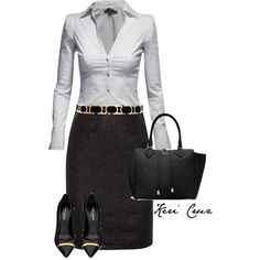 A fashion look from January 2014 featuring Jane Norman tops, Moschino Cheap & Chic skirts and Yves Saint Laurent pumps. Browse and shop related looks.