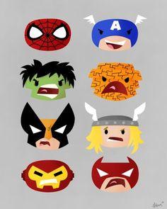 Marvel Heads