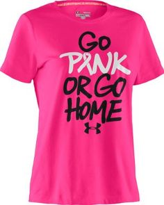 Cabela's: Under Armour® Women's Pip Go Home Pink Tee
