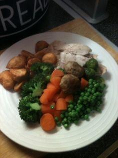 Vicki-Kitchen: Slow cooker roast chicken (slimming world friendly)