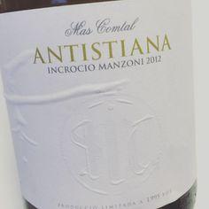 Antistiana Incrocio Manzoni 2012 (Penedès) #vino #videocata #uvinum