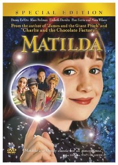Image result for childrens film posters matilda