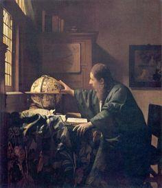 The Astronomer, 1668, Johannes Vermeer.
