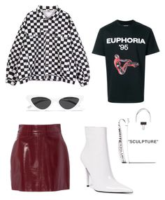 """Euphoria"" by varvara2v on Polyvore featuring мода, Jeffrey Campbell, MISBHV, Off-White и Le Specs"