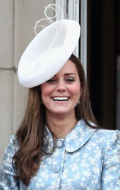 d4235477854 Duchess Kate attends Trooping the Colour in Catherine Walker s  Astrid   coatdress