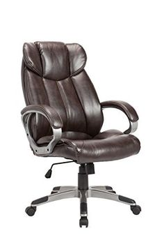 Sit Back and Recline in Our Executive Office Chair! This great looking office chair easily makes a statement when it is put into any office, workspace, or home. The padded armrests and ample cushioning ensure excellent back support and a convenient place to rest your body. It doesn't matter... more details available at https://furniture.bestselleroutlets.com/home-office-furniture/home-office-desk-chairs/adjustable-chairs/product-review-for-christies-home-living-leather-c
