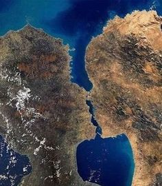 All around the World - Kissing Islands in Greenland - The two islands, which remind us of a couple kissing each other, are found in Greenland, where massive ice dominates and rules.   Although the world's largest island was originally named as Iceland when the first immigrants from Norway arrived there, the immigrants renamed it as Greenland to attract many from the continent.