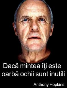 Anthony Hopkins, Totally Me, Album, Motivation, Words, Italian Quotes, Mottos, Varicose Veins, Motto