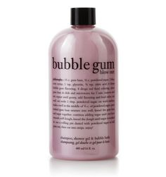 Bubble Gum Blow Out Shampoo, Shower Gel, and Bubble Bath at Philosophy.