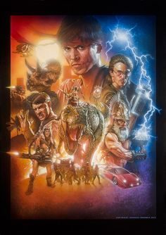 """""""Kung Fury"""" official movie poster by Andreas Bennwik 