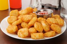 Broccoli Tater Tots: Enjoy this comfort food favorite with more fiber and crunch!