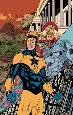 Booster Gold: time traveling superhero