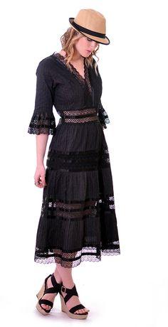 1950s Lace Mexican Wedding Dress | Damsel Vintage