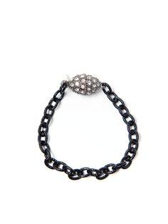Gunmetal Link Bracelet