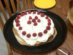 Lagkage Danish Layer Cake