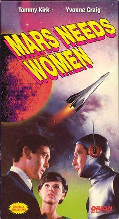 Mars Needs Women (1967) starring Tommy Kirk & Yvonne Craig