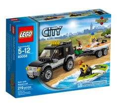LEGO 60058  SUV with Watercraft