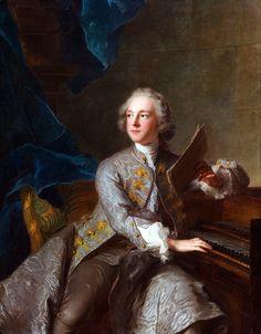 Jean-Marc Nattier (1685-1766): Portrait of Francis Greville, Baron Brooke, later 1st Earl of Warwick (1719-1773).