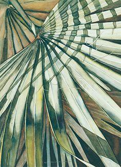 Bismark Beauty by Lori Pitten Jenkins Watercolor ~ 19 x Watercolor Leaves, Watercolor And Ink, Watercolor Paintings, Tahiti, Ap Studio Art, Painted Leaves, Leaf Art, Art Studios, Painting Inspiration