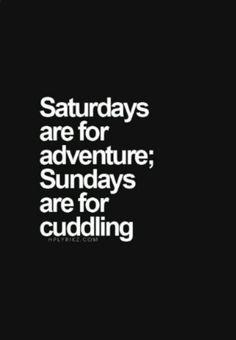 #SundayForCuddling!