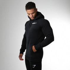 best authentic 01fc6 0de1c Gymshark Men s Crest Hoodie - Black  GymClothes