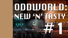 An Oldie but a Newie, Oddworld is back with New and Tasty. Let's see if I remember my childhood!