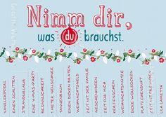 24 Liebessprüche Für Adventskalender | Ich Wunsche Dir Doppelkarten Grafik Werkstatt Bielefeld