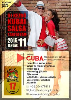 kubai salsa tanfolyam 2016.01.11. www.salsatropical.hu