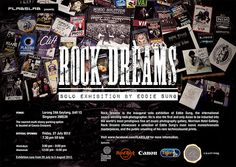 Paris Home (an affiliate of Couture Furniture) is proud to be a sponsor for Rock Dreams. Presented by FLABSLAB, Rock Dreams is the inaugural solo exhibition of Eddie Sung, the international award-winning rock photographer. He is also the first and only Asian to be inducted into the world's most prestigious fine art music photography gallery, Morrison Hotel Gallery. Click poster for more information.