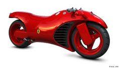 Ferrari Motorbike Prototype