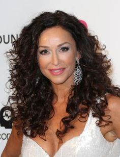 See photos of hairstyles for curly hair. My best photos of curly hairstyles.: Sofia Milos Curly Hair