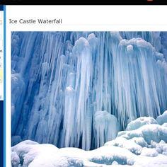 Frozen Waterfall    Author: bestfun2010 blogspot