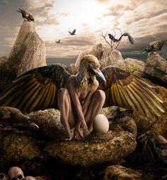 Hoy destacamos a un polémico ilustrador, Grzegorz Kmin, también conocido como Aspius, que nos retrata mundos detallistas y con una extraña oscuridad de pesadilla. Nos ofrece su visión del autor nuestra compañera Marisa Caballero:  http://universolamaga.com/blog/grzegorz-kmin/
