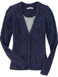 Women's Cable-Knit Cardigans | Old Navy - StyleSays