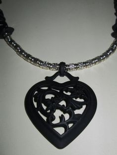 My Heart Will Go On Diva Heart Necklace  by TheJewelryDiva on Etsy, $22.00