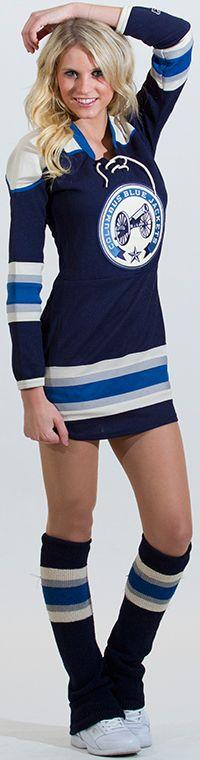 2012-13 Kia Ice Crew - Saundrine - Columbus Blue Jackets - Fan Zone  @Nationwide Arena