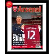 Personalised Arsenal Magazine Front Cover :: A perfect personalised gift idea for any Arsenal FC Fan - Official Arsenal Gifts with Fast UK Delivery! Gifts For Boys, Fathers Day Gifts, Arsenal Gifts, Jack Wilshere, Magazine Front Cover, Gifts For Football Fans, Personalized Football, Personalised Gifts For Him, Arsenal Football