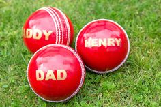 Personalised Cricket Ball from notonthehighstreet.com