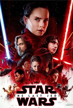 """Star Wars: Episode VIII – The Last Jedi on DVD. """"Rey develops her newly discovered abilities with the guidance of Luke Skywalker, who is unsettled by the strength of her powers. Meanwhile, the Resistance prepares for battle with the First Order. Star Wars Film, Ver Star Wars, Theme Star Wars, Star Wars Watch, Star Wars Poster, Star Wars Art, Streaming Vf, Streaming Movies, Hd Movies"""